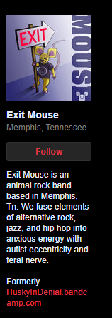 Exit Mouse is Husky In Denial